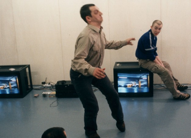 Performers Matt Adams and Jamie Iddon
