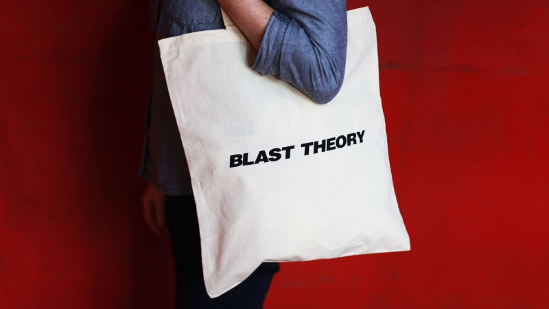 Blast Theory tote bag