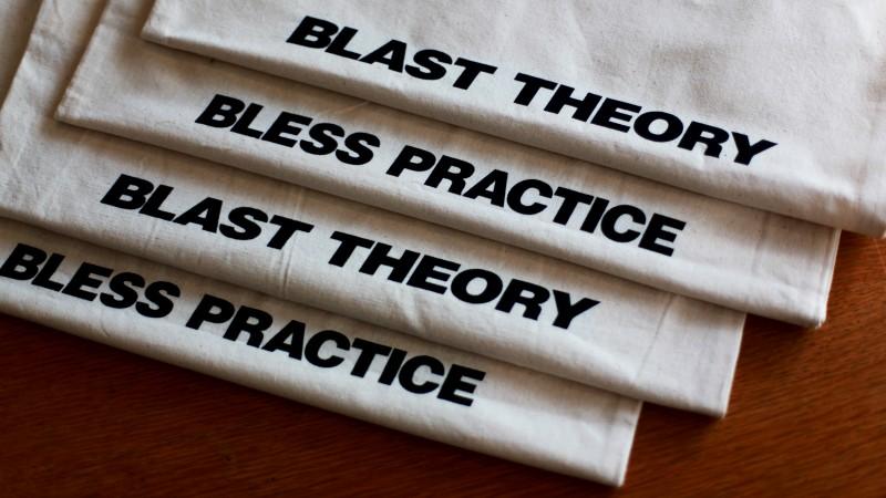 Blast Theory tote bag