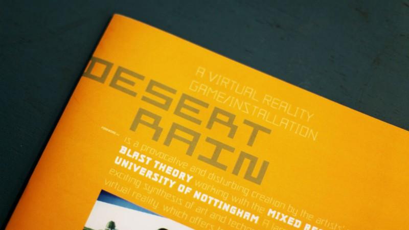 Desert Rain front cover