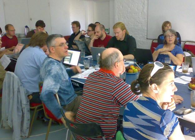 IPerG seminar attendeees at 20 Wellington Road