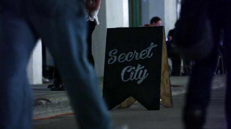 Secret City: Image courtesy of the artist
