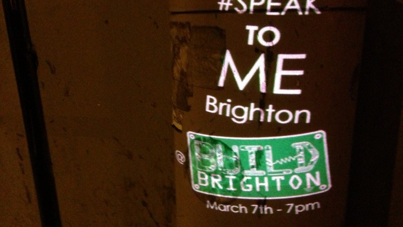 Speak to Me Brighton, image courtesy of the artists