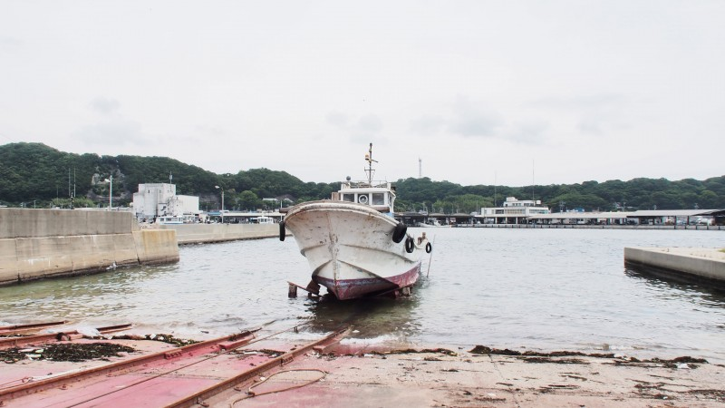 the trawler, Photo credt: YAMAGUCHI Taka