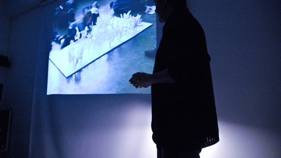 Artist talk at 20 Wellington Road