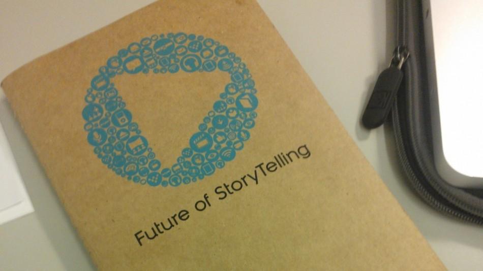 Matt at Future of StoryTelling