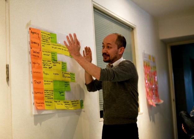Blast Theory artist Nick Tandavanitj presents ideas