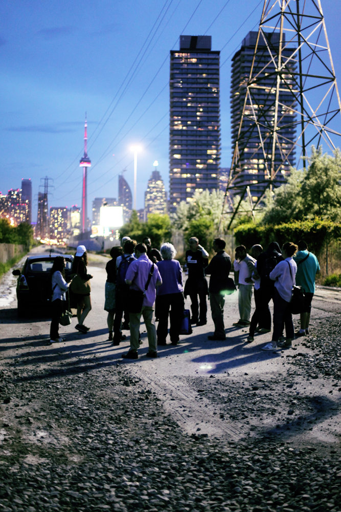 Cast and Crew in Toronto