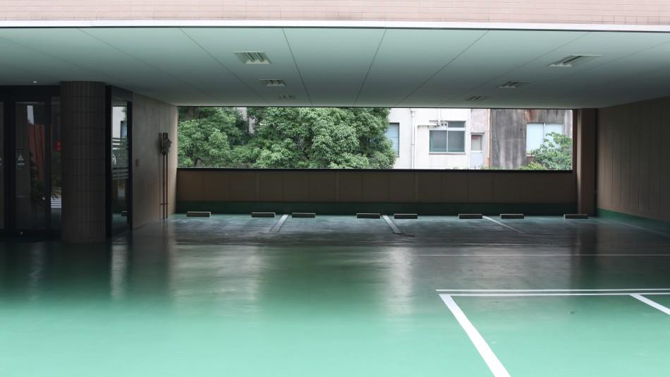 Japanese car park