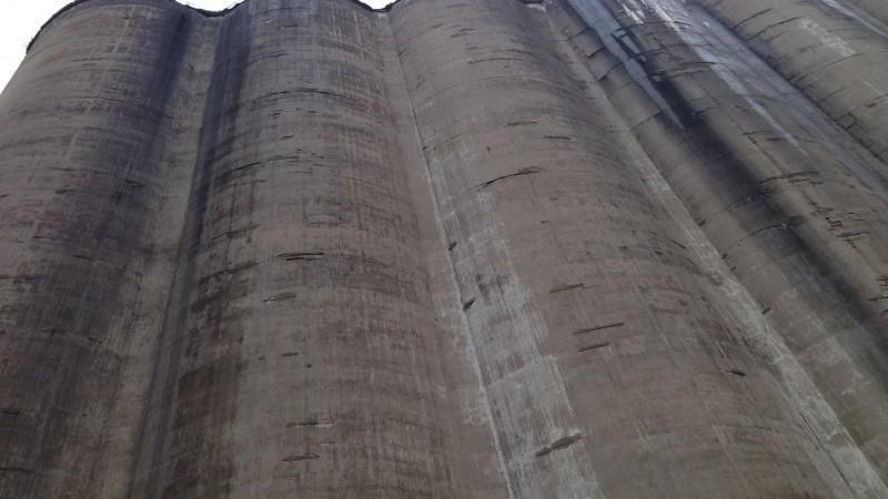 Corn silos in Buffalo