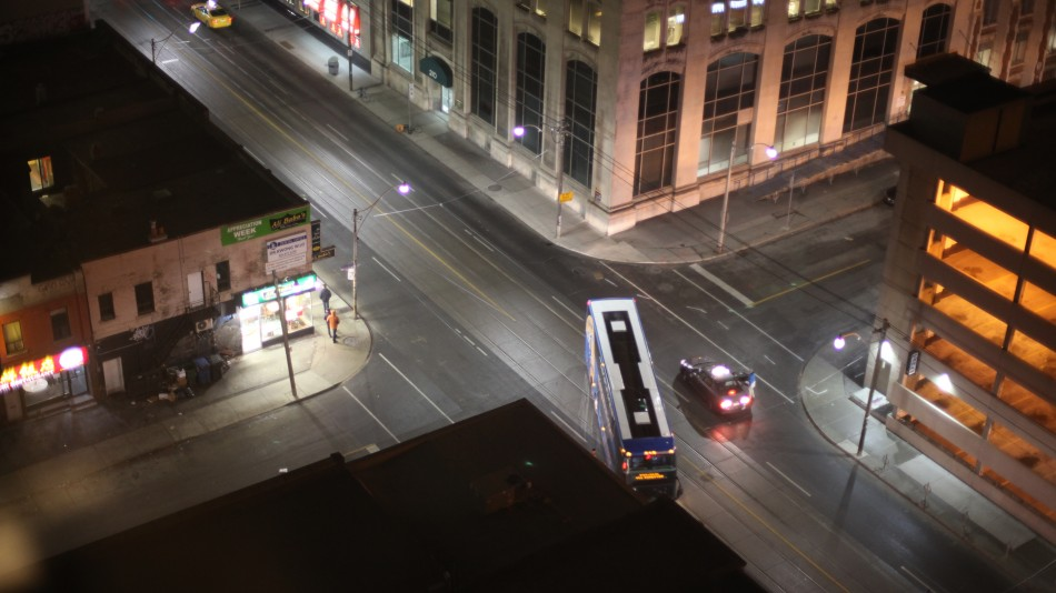 Toronto street junction