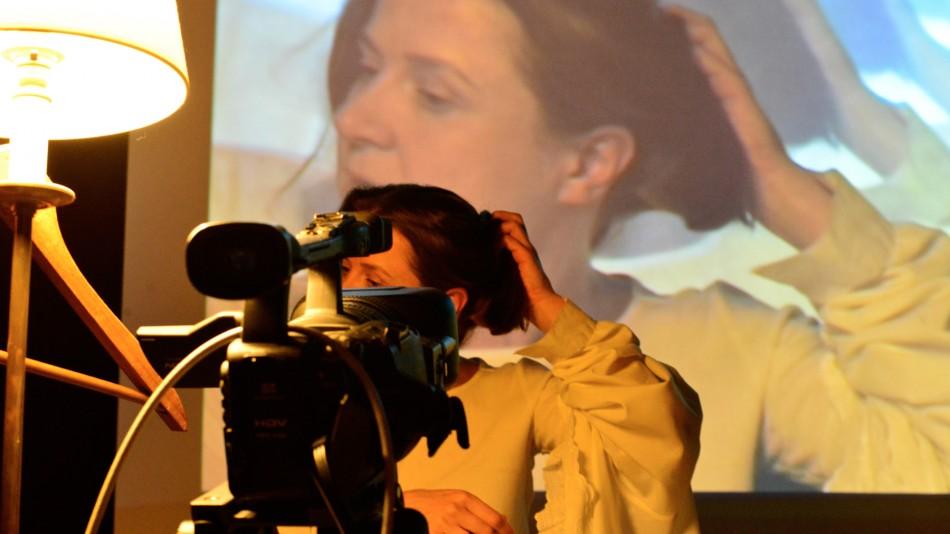 Resident artist Katy Pendlebury