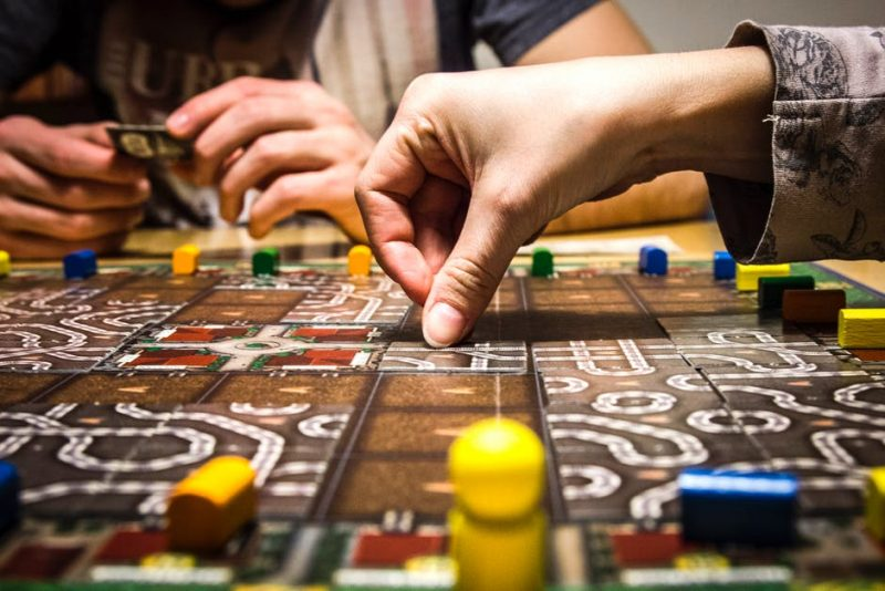 Hwu Young Board game design workshop and games night